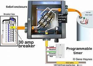 120 Volt Hot Water Heater Wiring Diagram