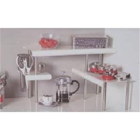 étagère à poser cuisine etagère d 39 angle de cuisine blanche achat vente meuble étagère etagère d 39 angle de cuisine
