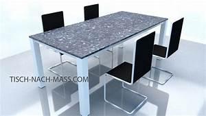 Granitplatte Nach Maß : esstische mit steinplatte tisch nach ma online bestellen ~ Watch28wear.com Haus und Dekorationen