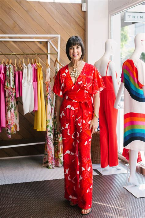 trina turk talks fashion   anniversary  burlingame