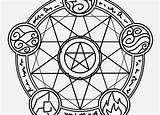 Pentagram Coloring Pages Pentacle Printable Getdrawings Graphic Getcolorings sketch template