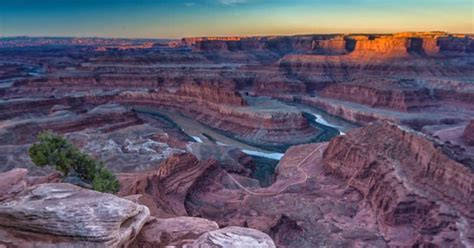dead point state park utah magical sunrises