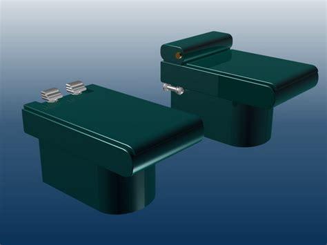Dark Green Bidets 3d Model 3ds Max Files Free Download