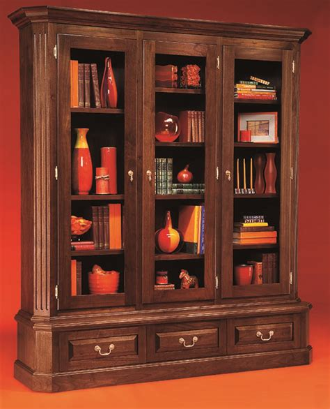 grand walnut bookcase popular woodworking magazine