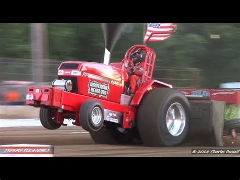 Tractortruck Pulls! 2018 St Joseph County Fair Pull Ntpa
