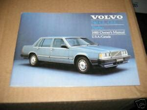 volvo  gle gl turbo owners manual  owners ebay