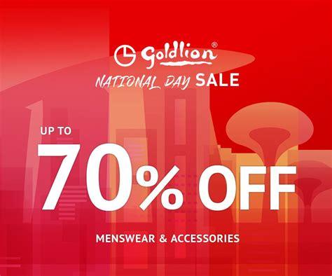 GOLDLION Outletshop - National Day Sale   Goldlion ...