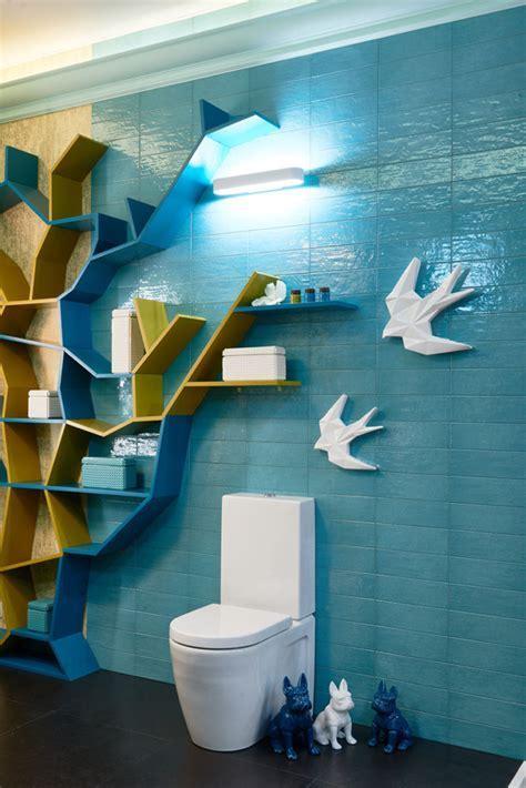 ?Owl?s Nest?: Creative and Super Positive Bathroom