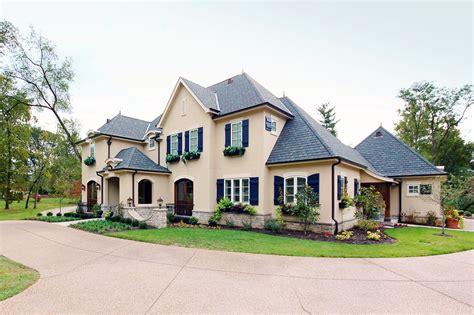 Exterior : Exterior Colors For French Home Design #2515