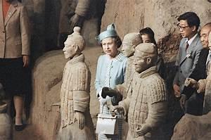 Terracotta warriors attract celebrities around the world[6 ...