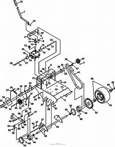 Bunton  Bobcat  Ryan 932007g 16hp Kawasaki 32 Classic Pro Parts Diagram For Transmission Drive
