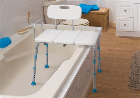 chaise baignoire bathtub transfer bench by aquasense aquasense