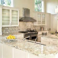 Alaska white granite Kitchen makeover Pinterest