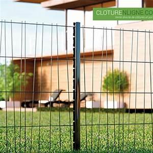 Cloture Du Melantois : panneau de cloture domino hauteur 1m20 noir ral 9005 cloture decorative ~ Voncanada.com Idées de Décoration
