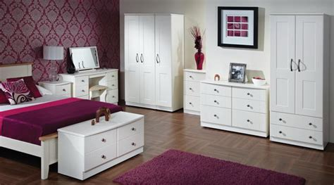 Beautiful And Elegant White Bedroom Furniture Ideas
