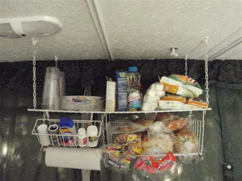Hanging Pantry Storage by Mobile Shelf Space With A Diy Rv Hanging Pantry