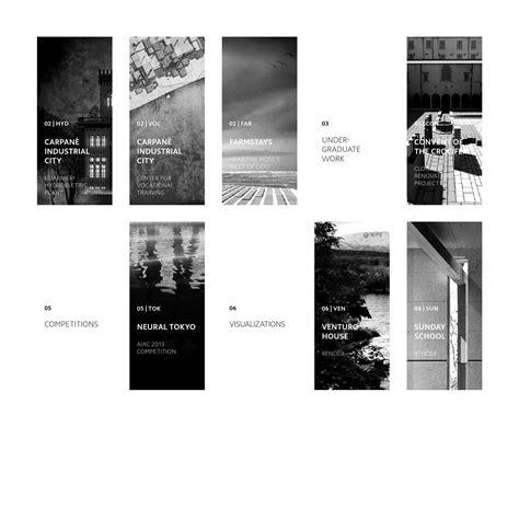 andrea cogo architektur architektur portfolio layout