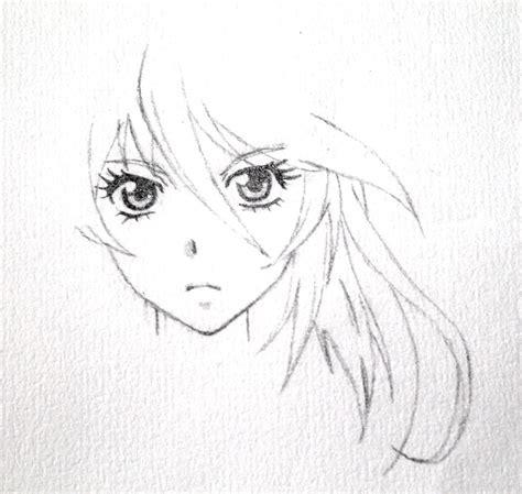 anime girl sketch study spirited  inkypunk  deviantart