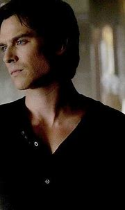 Damon Salvatore. Isn't he gorgeous look at his piercing ...