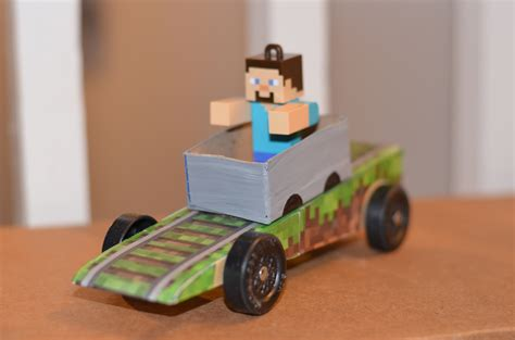 minecraft car design minecraft man boys life magazine