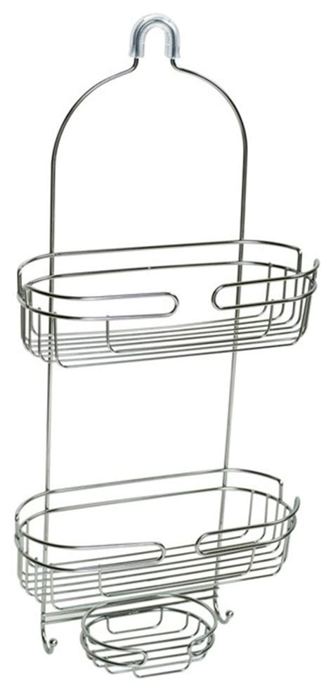 Zenith Shower Caddy Stainless Steel by Zenith 7528st 25 25 Quot Premium Metal The Shower