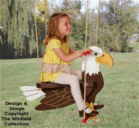 toys games eagle swing wood plans