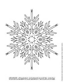 Snowflake Design Coloring Pages