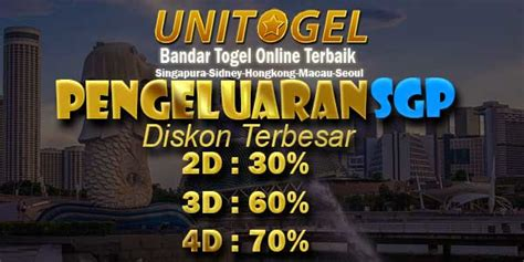 pengeluaran togel singapore data result sgp prize hari  unitogel