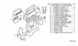 2010 Nissan Altima Sedan Engine Gasket Kit