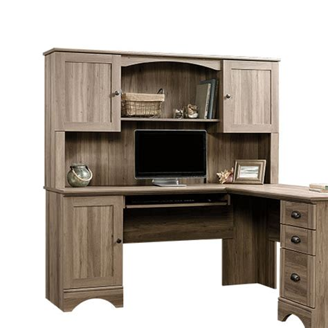 sauder harbor view computer desk with hutch sauder harbor view hutch boscov 39 s