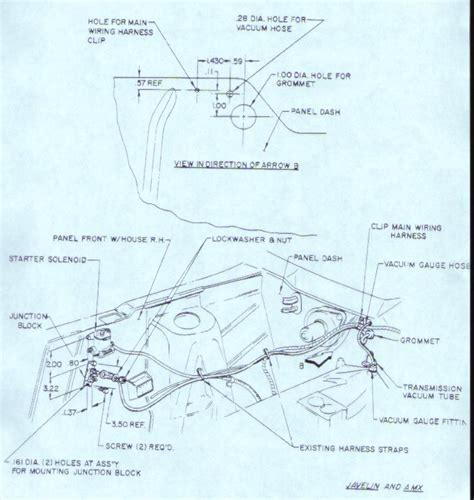 1974 Amc Javelin Wiring Diagram by Amx Javelin 68 69 70