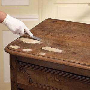 comment reboucher des trous et fissures sur un meuble en With renover meuble en bois