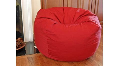 discount bean bag chairs red organic cotton washable