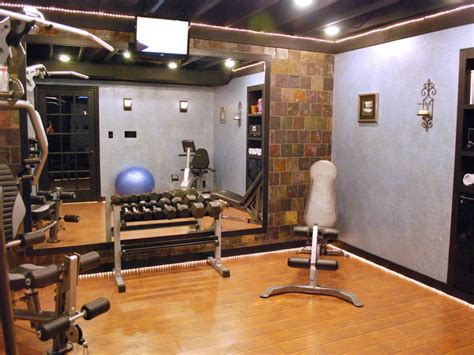 Garage Workout Room Ideas by Home Gyms In Any Space Hgtv