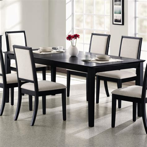 coaster lexton  rectangular dining table