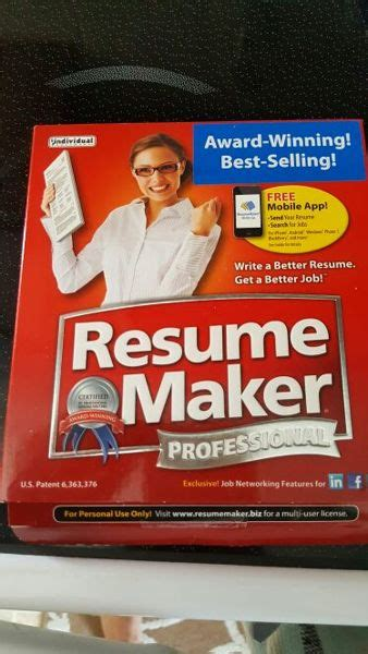 free resume maker professional cd with activation key