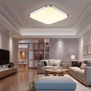 Deckenlampe Für Wohnzimmer : 12w led deckenleuchte deckenbeleuchtung deckenlampe wohnzimmer k che warmwei ebay ~ Frokenaadalensverden.com Haus und Dekorationen