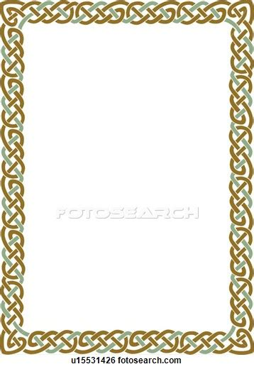 celtic knot border clipart png  cliparts