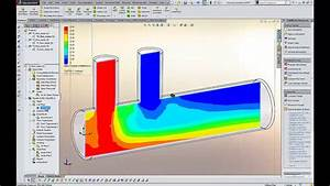 Solidworks Flow Simulation 2014 Cfd Demo  U2013 Fluid Mixing