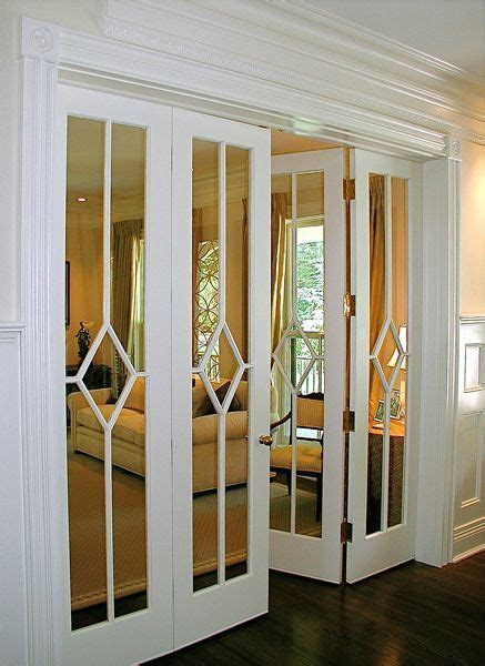 Mirror Folding Closet Doors by 25 Best Ideas About Mirrored Closet Doors On