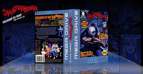 Splatterhouse Genesis Box Art Cover By Ervo