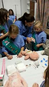 Girl Scouts earn Junior First Aid Badge at TRMC Teddy Bear ...