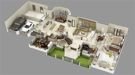 elizabeth court luxury house plan