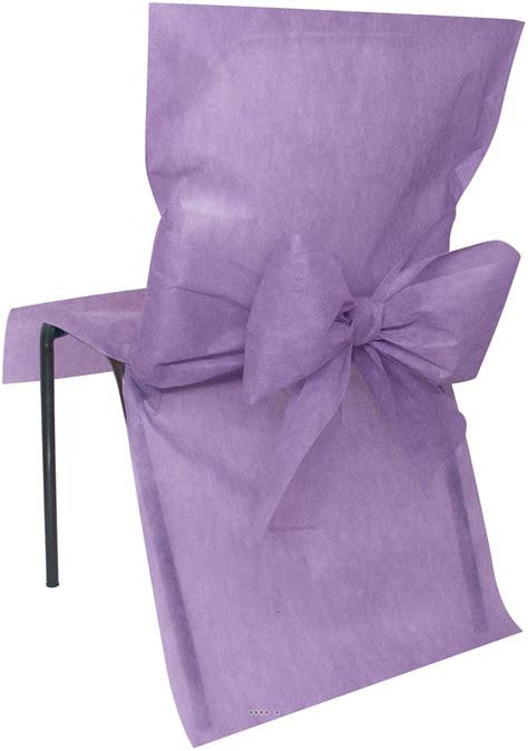 housse de chaise largeur 50 cm housses de chaise x10 avec noeud tissu non tissé 50 cm x