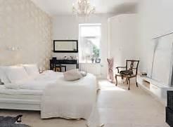 Scandinavian Bedroom Design Ideas View In Gallery Airy Bedroom With Wooden Flooring And Pastel Blue