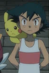 Pokemon Ash Ketchum Sleeping