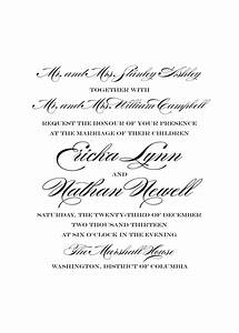 wedding invitation wording divorced parents of bride With wedding invitations wording bride s parents
