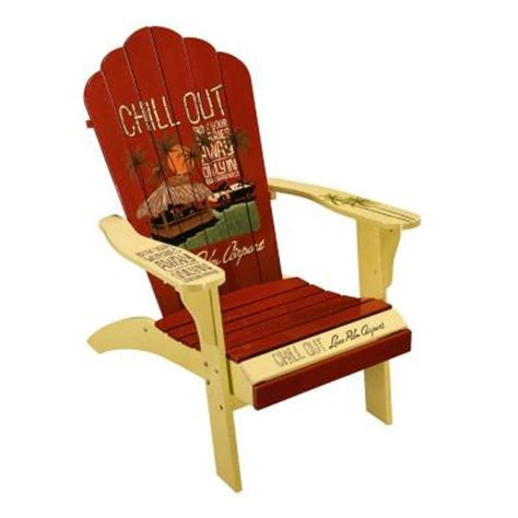 Margaritaville Classic Adirondack Chair by Margaritaville Chill Out Classic Adirondack Patio Chair