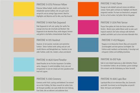 Trendfarbe 2016 Pantone by Pantone Trendfarben 2017 Neue Farben Fr 252 Hjahr Sommer 2017