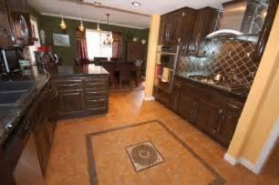 ceramic tile kitchen floor ideas kitchen ceramic tile design ideas decobizz com